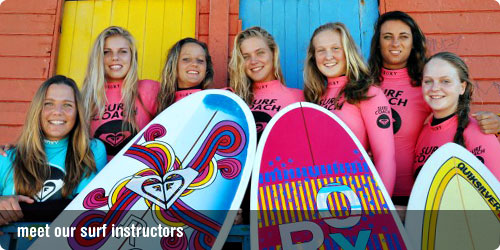 Roxy Surf Instructors
