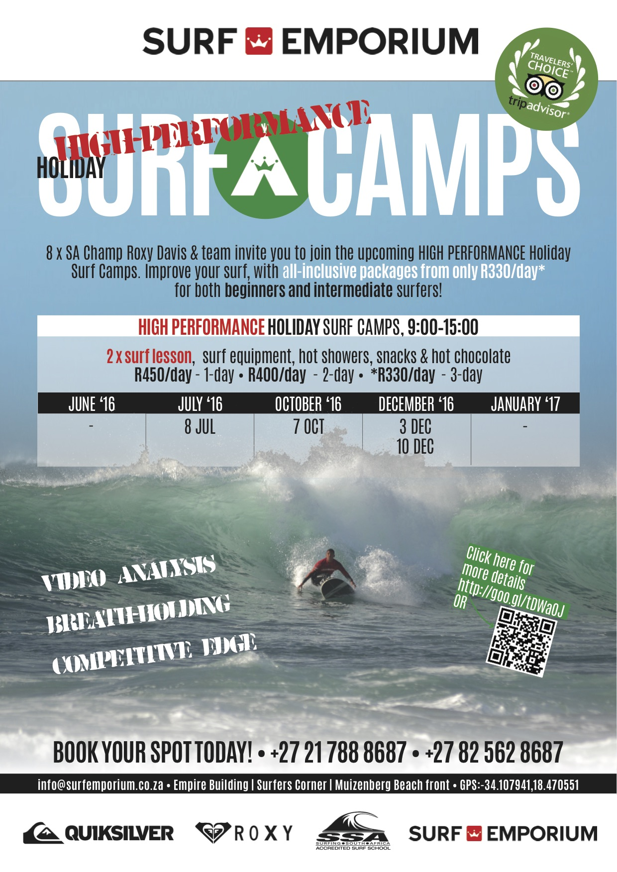High Perf Surf Camp