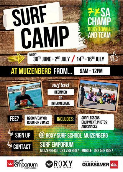 Surf Camp June