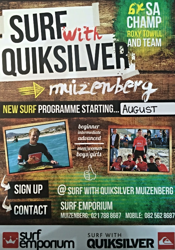 Surf with Quiksilver Programme