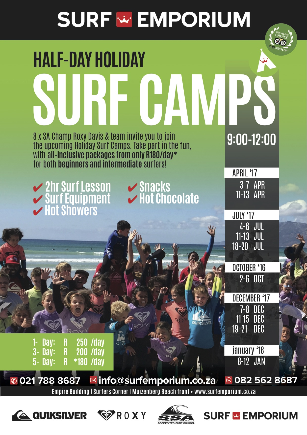 Holiday Surf Camp