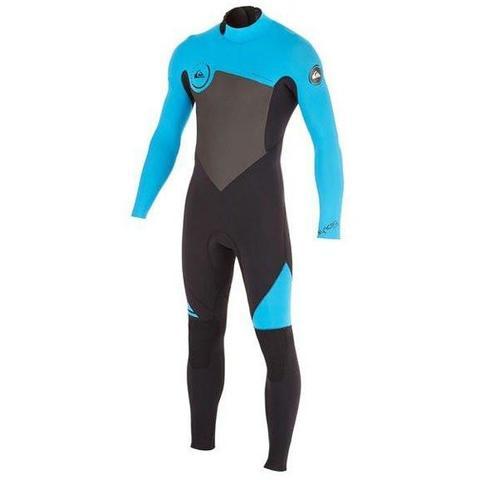 Quiksilver Boys 4 3mm Syncro Back Zip Wetsuit  0a2589cc518