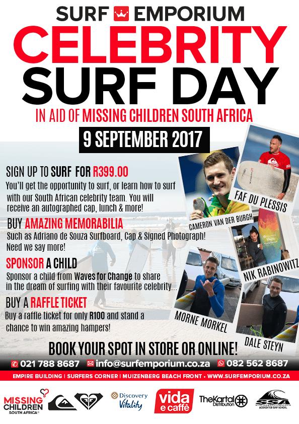Celebrity Surf Day 2017