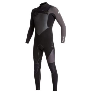 Quiksilver - 4/3mm Highline + Chest Zip Wetsuit