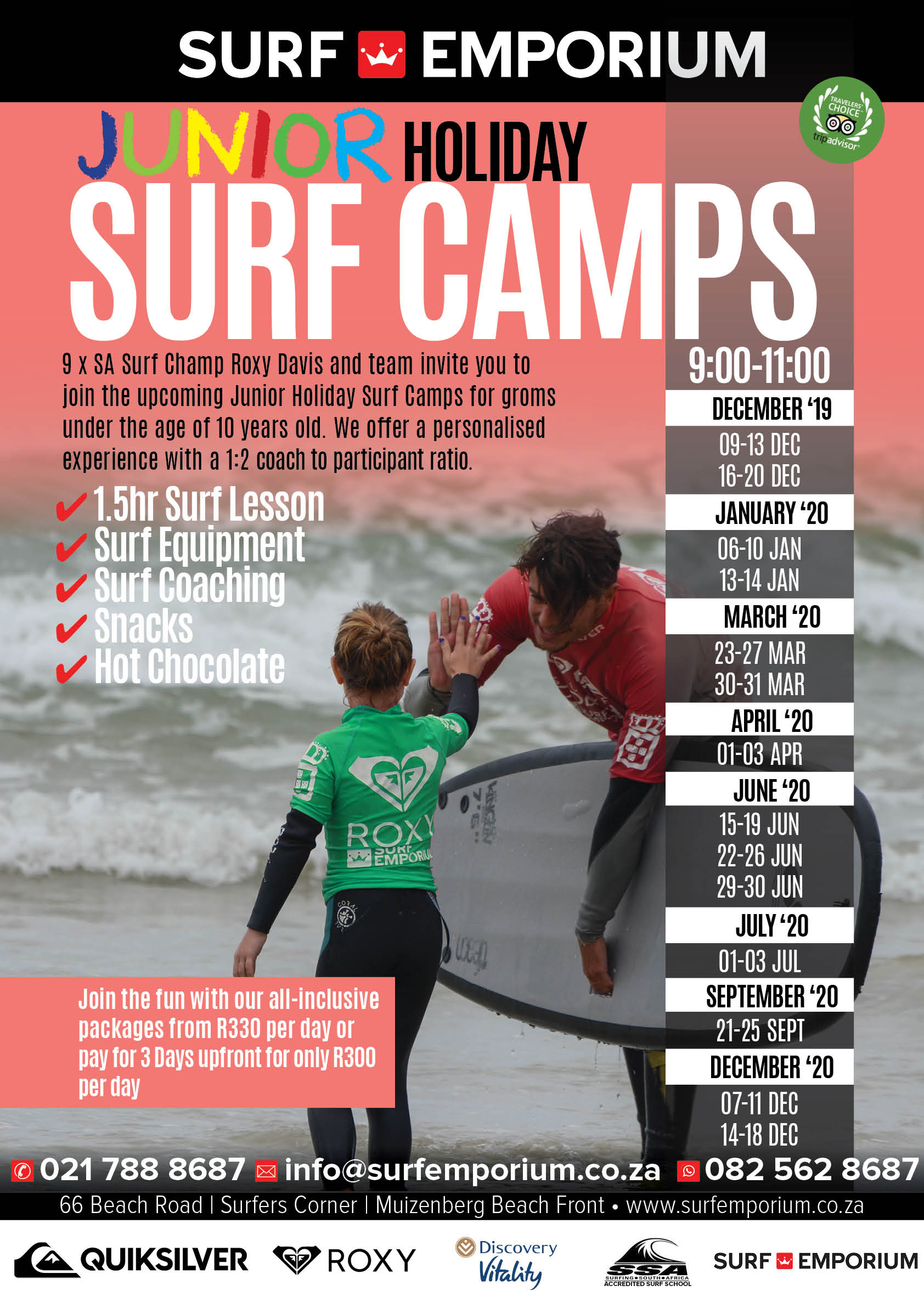 Junior Holiday Camps