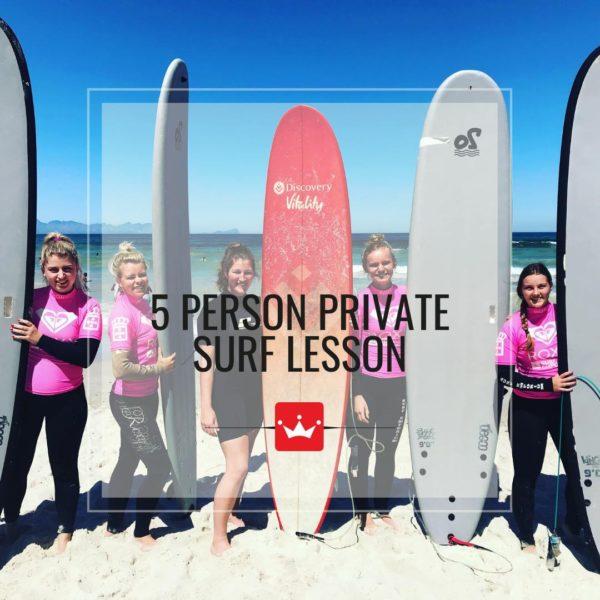 Private Surf Lesson Muizenberg
