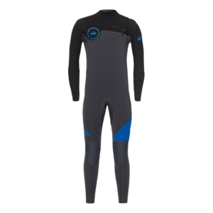 Quiksilver - Boys 4/3mm Syncro Series Chest Zip Wetsuit