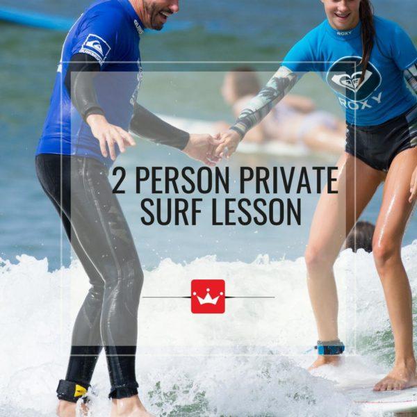 2 person private lesson