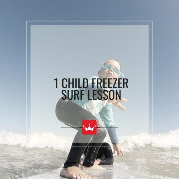 Kids Surf Lesson Muizenberg