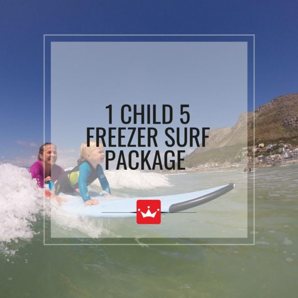Surf Lessons at Surf Emporium Muizenberg for children