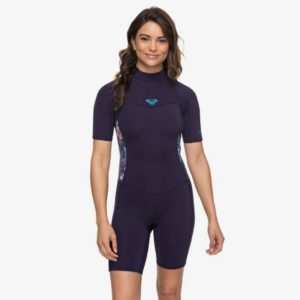 Roxy - 2mm Syncro Short Sleeve Back Zip Springsuit