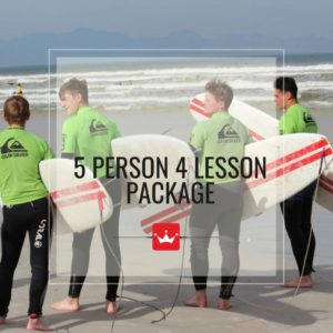 Group Surf Lesson Package