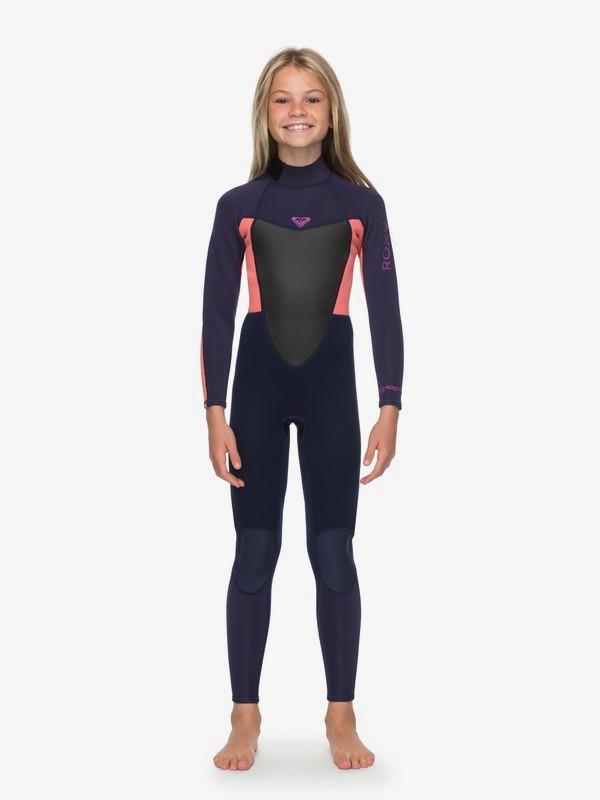 Roxy - Girl's 3/2mm Prologue Back Zip Wetsuit