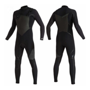 Quiksilver -4/3mm Syncro + Chest Zip Wetsuit