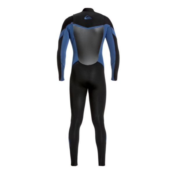 4.3mm Syncro Chest Zip GBS (Black/Iodine Blue)-Quiksilver