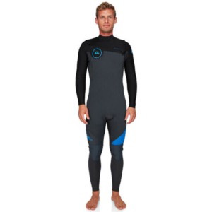4.3mm Syncro Series Chest Zip GBS (Grey/Blue)-Quiksilver