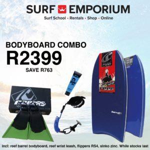 Bodyboard Combo - Surf Emporium