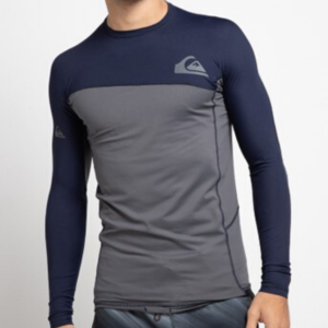 Quiksilver - Core Performance Long Sleeve (Navy Blazer)