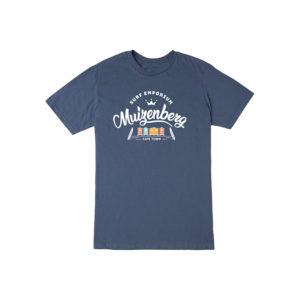 Muizenberg Huts Mens T-Shirt (Navy) - Surf Emporium