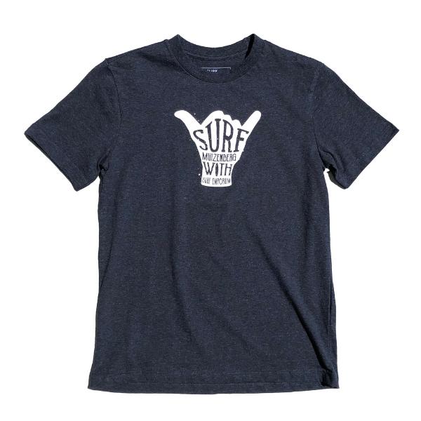 Shaka Kids Short Sleeve T-Shirt (Navy) - Surf Emporium