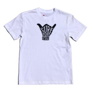 Shaka Kids Short Sleeve T-Shirt (White) – Surf Emporium