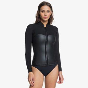 Roxy - 2mm Satin Front Zip Wetsuit Jacket