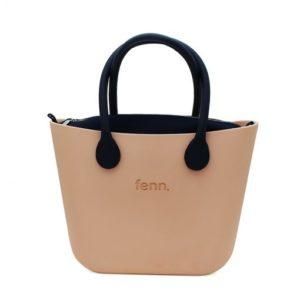 fenn. collection - Peach | Navy Inner (Navy Microfibre Handle) Original