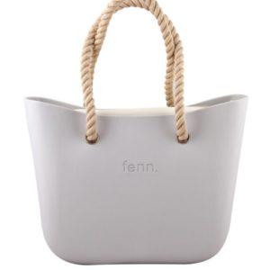 fenn. collection - Light Grey | Beige Inner (Beige Rope Handle) Original