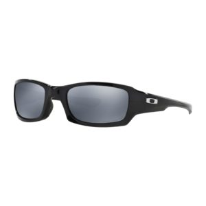 Oakley Five Squared - Polished Black (Black Iridium Polarized)