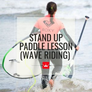 Stand Up Paddle Lesson (Wave-Riding)