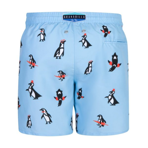 Granadilla Swimwear - Penguins | Baby Blue SS21